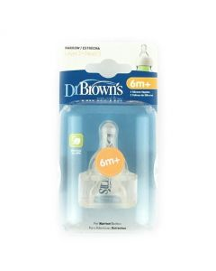 Dr Brown's Level 3 Teats Twin Pack