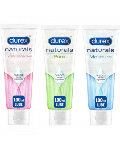 Durex Extra Sensitive, Pure & Moisture Bundle