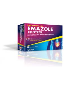 Emazole Control 20mg Gastro Resistant Tablets