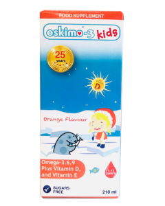 Eskimo Kids Omega 3 Orange 210ml