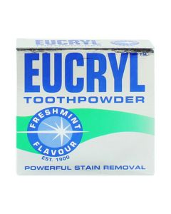 Eucryl Tooth Powder Freshmint Flavour 50g