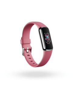 Fitbit Luxe Orchid/Platinum Stainless Steel