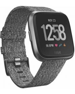 Fitbit Versa 2 Special Edition Woven Strap - Charcoal