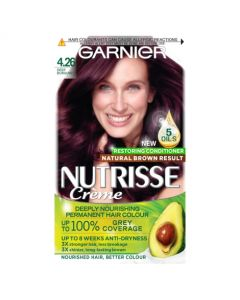 Garnier Nutrisse 4.26 Deep Burgundy Red Permanent Hair Dye