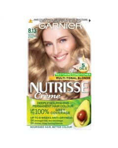 Garnier Nutrisse 8.13 Medium Beige Blonde Permanent Hair Dye