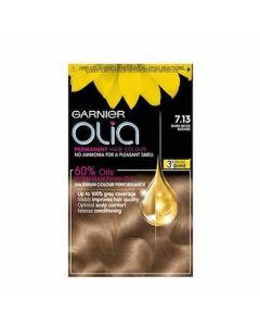 Garnier Olia 7.13 Dark Beige Blonde Permanent Hair Dye