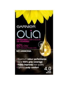 Garnier Olia Hair Colour-4.0 Dark Brown