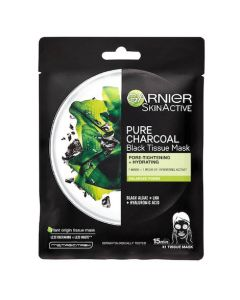 Garnier Skin Active Charcoal and Algae Face Tissue Mask