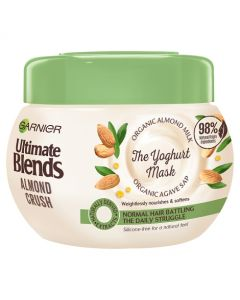 Garnier Ultimate Blends Almond Milk Normal Hair Treatment Mask 300ml Front