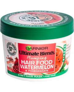 Garnier Ultimate Blends Watermelon & Pomegranate 3-in-1 Hair Mask