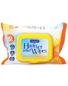 Nuage Hayfever Relief Wipes 30pk