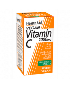 Health Aid Vegan Vitamin C 1000mg 30 Tablets