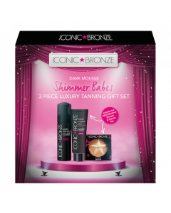 Iconic Bronze Dark Mousse Shimmer Babes Gift Set