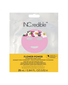 INC.redible Flower Power Hydrating Sheet Mask