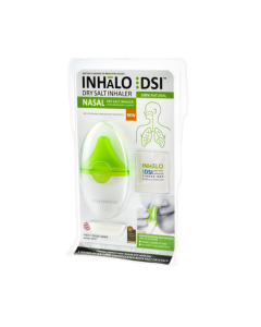 New innovative, ergonomic and portable dry salt inhalers (DSI), makes use of the simple therapeutic principle of inhaling salty air   Fast Dispatch*
