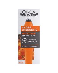 L'Oreal Men Expert Hydra Energetic Anti-Fatigue Eye Roll-On 10ml Front