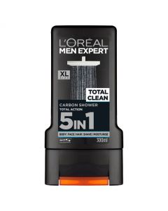 L'Oreal Men Expert Total Clean Shower Gel 300ml Front