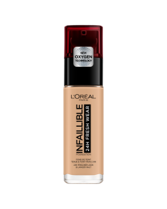 L'Oreal Paris Infallible 24hr Freshwear Liquid Foundation 140 Golden Beige