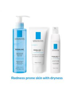 La Roche Posay Dry Skin Prone To Redness Routine