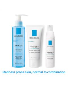 La Roche Posay Normal/Combination Skin Prone To Redness Routine