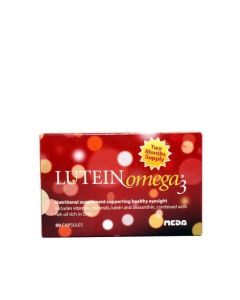 Lutein Omega 3 Supplements for AMD (60)