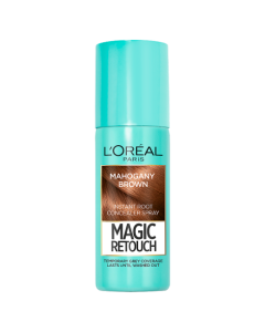 Magic Retouch Mahogany Brown Root Touch Up 75ml