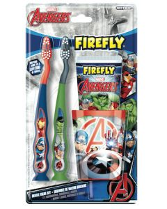 Marvel Avengers Toothbrush, Toothpaste, Cup Holder Gift Set