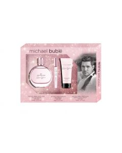 Michael Buble Rose Gold 3 Piece Gift Set