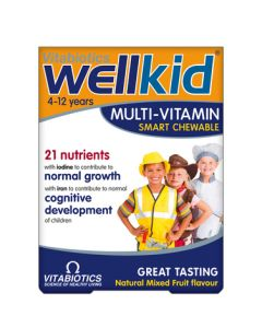 Wellkid Smart Chewable Multivitamins