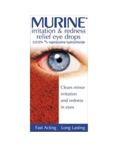 Murine Irritation & Redness Relief Eye Drops