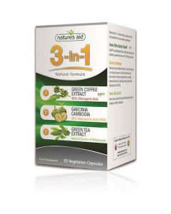 Natures Aid 3-in-1 Natural Formula 60 Pack