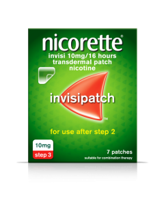 Nicorette Invisi Patch 10mg 7
