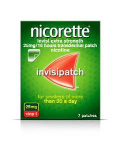 Nicorette Invisi Patch 25mg 7