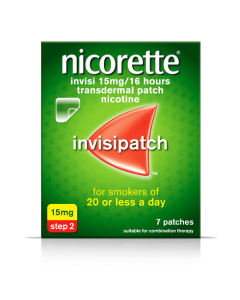 Nicorette Invisi Patch 15mg 7