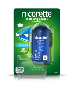Nicorette Lozenge Icy Mint 2mg 20