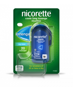 Nicorette Fruit Lozenge 2mg 20