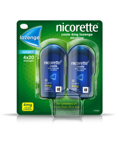 Nicorette Lozenge Icy Mint 4mg 80
