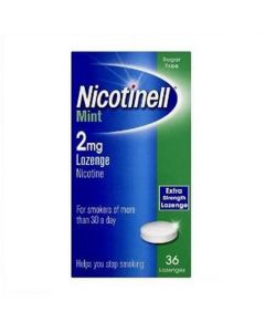 Nicotinell mint 2mg Compressed Lozenges-36