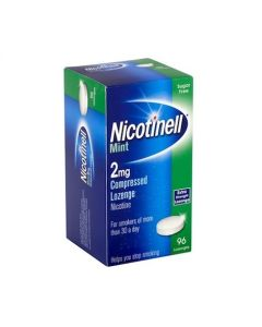 Nicotinell mint 2mg Compressed Lozenges-96