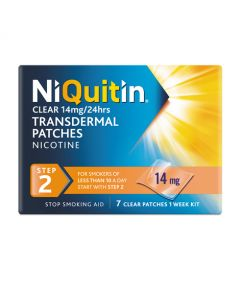 NiQuitin Clear 14mg - Step 2 - 7patches (1pack)