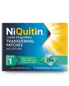 Niquitin 21mg Transdermal Patches Step 1 - 7 Patches