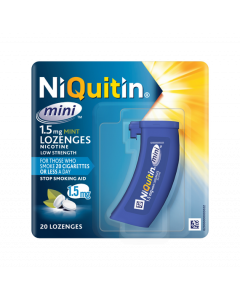 NIQUITIN Mini Mint Lozenge 1.5MG