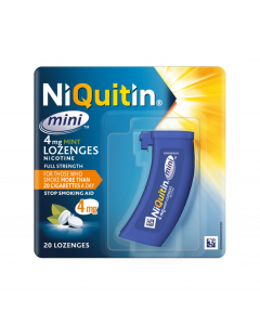 NIQUITIN Mini Mint Lozenge  4.0MG