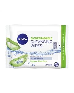 Nivea Biodegradable Cleansing Wipes 25s