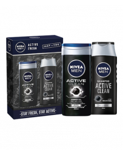 Nivea Men Active Fresh Gift Set