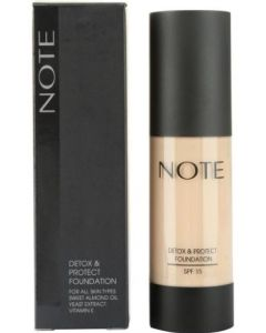 NOTE Cosmetics Detox & Protect Foundation 02