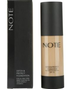 NOTE Cosmetics Detox & Protect Foundation 04