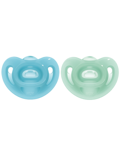 NUK  Sensitive Soother G/B Size 1