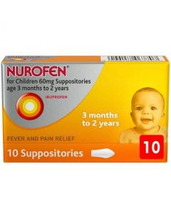 Nurofen For Children - 10 Suppositories