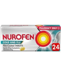 Nurofen Cold and Flu Film-Coated - 24 Tablets